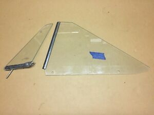 1965 Plymouth B Body 2d Ht Side Glass Oem Belvedere