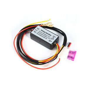 Car Daytime Running Light Relay Harness Drl Control On Off Automatic Dimmer Chy