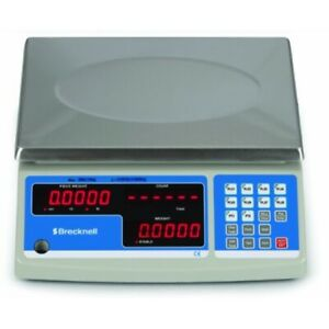 Brecknell B 140 60 Counting Scale 30 Kg X 1 G 60 Lb X 0 002 Lb