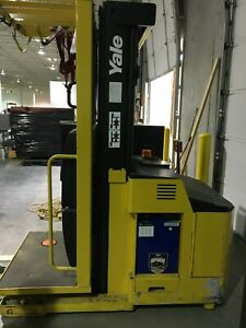 Electric Order Picker Fork Lift Truck Model 0s030ecn24te089 Charger Is Included