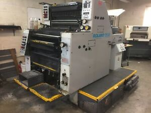 Man Roland 202 Printing Press 1994 2 Color