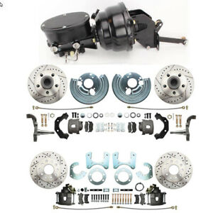 Mopar Front Rear Performance Based Power Disc Brake Conversion Package