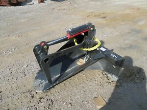 Extreme Stump Bucket Grapple W Teeth Skid Steer Attachment Tree Spade