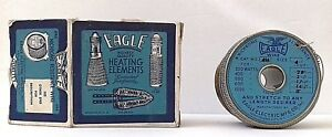 Nos Vintage Eagle Heating Elements Nichrome Resistance Wire W box 410 4 Coiled