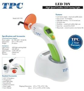 Cordless Dental Led Curing Light Led 70n Tpc Advanced Dental