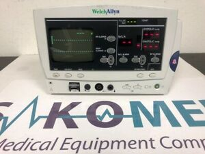 Welch Allyn 6200 Series Patient Monitor Ecg Nibp Spo2 Nibp And Temp