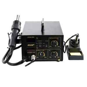 852d 2in1 Soldering Rework Station Iron Digital Display Hot Air Soldering