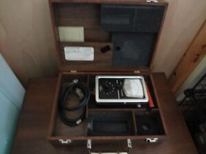 Ird Model 306 Portable Vibration Meter Case No Probe vintage Battery