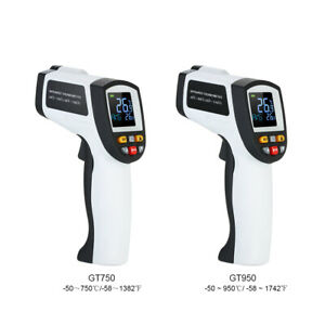 Digital Infrared Thermometer Temperature Meter Pyrometer W Lcd Backlight P0z2