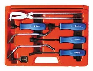8 Pc Brake Adjust Tool Set Car Truck Foreign Domestic Drum Garage Shop Tech