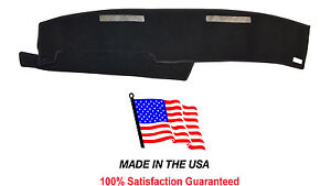 Carpet Black Dash Mat Compatible With 1986 1993 Gmc Sonoma Dash Cover Usa Made