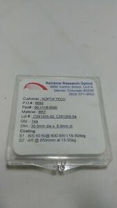 Rainbow Research 56 1118 0000 30mm Dia 8mm Ct Photonics Lens 6682 Tapered