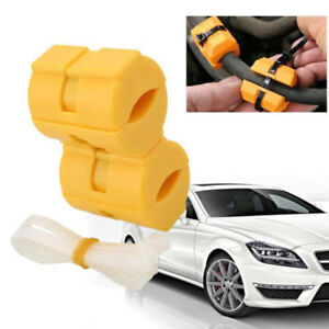 2pcs Set Magnetic Fuel Saver Gas Power For Car Truck Boat With Straps