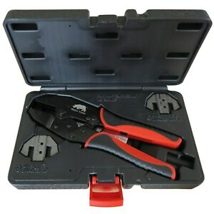 Superseal Connector Crimping Kit 2 Die Quick Change Ratchet Crimper Super Seal