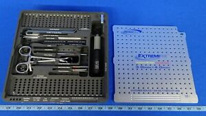 Osteomed Extremifix Cannulated Screw System Instrumentation Only Set 3 0mm 4 0mm