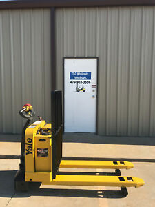 2008 Yale Electric Pallet Jack Model Mpw050 Forklift Walkie Only 1790 Hours