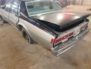 1978 Chevrolet Caprice Trunk Lid