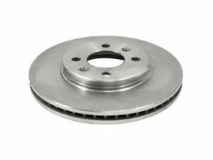 Front Brake Rotor For 88 98 Saab 9000 Turbocharged Zg61n5