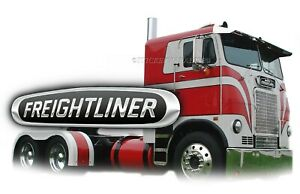 Freightliner Sticker Ruby Semi Truck Decal Garage Label Man Cave Toolbox Usa