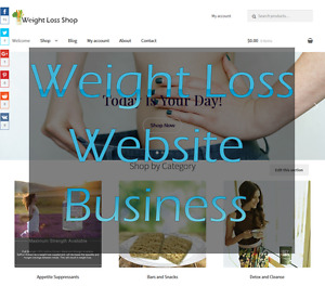 Weight Loss Products Amazon Affiliate Store Ecommerce Website Business