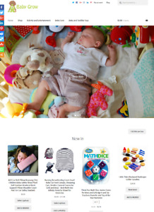 Baby Products Website Business For Sale