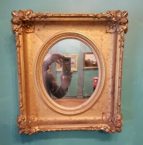 Beautiful 19th C Gilded Hudson River School Mirror Frame