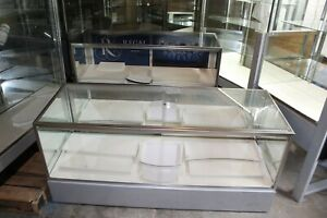 27 75 X 22 X 60 Jewelry Showcase Retail Display Case Led Lighting