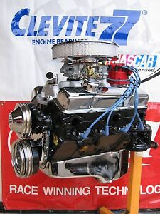 Chevrolet 383 360 Hp High Performance 4 Bolt Turn Key Crate Engine Chevy