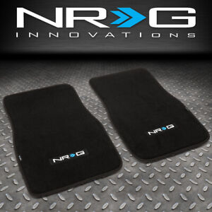 Nrg Innovations Fmr 800 Pair Universal Auto Front Floor Mats Liner Pads Carpet
