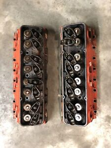 3795896 Small Block Chevy Heads Pair Complete