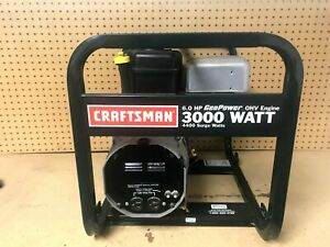 Craftsman 3000 Watt Generator Genpower 206