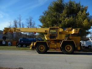 1978 Grove Rt 522 Crane 22 Ton Rough Terrain
