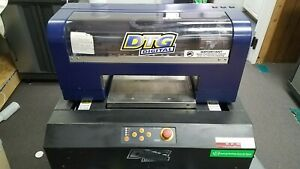 Dtg Printer Qty 2 Dtg Digital Hm1 c Qty 2 Machines 1 Working 1 For Parts