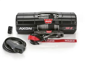 101140 Warn Axon 45 S Powersport Utv Atv Electric Winch W 50ft Spydura Rope