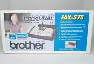 Nib Brother Fax 575 Personal Plain Paper Fax Phone And Copier