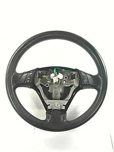 Steering Wheel With Switch Cover Leather Black Mazda3 Mazda 3 11 2011 Oem