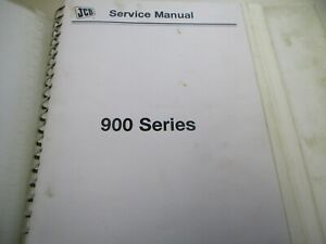 Jcb 900 Series Forklift Service Manual