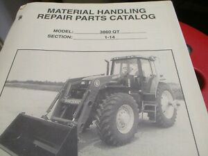 Bush Hog 3860 Qt Loader Parts Catalog Manual