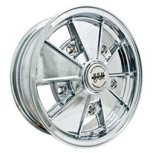Brm Wheel All Chrome 17x7 Fits 5 On 205mm Vw Dunebuggy Vw