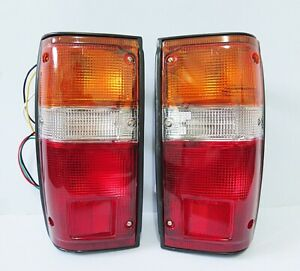 Rear Tail Light Lamp Pair For Toyota Hilux 1984 1988 85 86 87 Ln50 Pickup Truck
