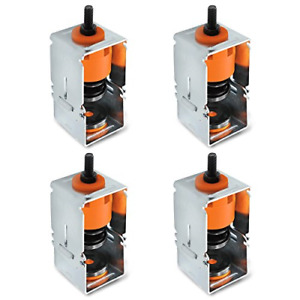 4 Pcs Spring Vibration Isolator With Removable Frame Design Ceiling Suspended