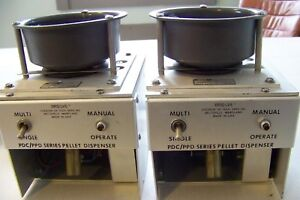 2 New Brs lve Fdc 020 Pdc ppd Series Pellet Dispensers For Lab Rodent Cages Sale