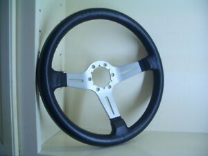 New Corvette 1967 1975 Momo Leather 3 Spoke Retro Series Steering Wheel 125