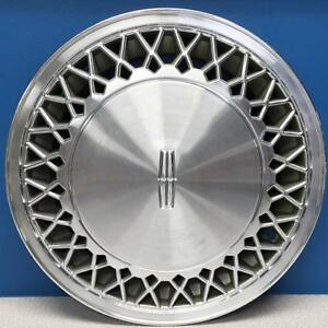 One 1988 Lincoln Town Car 866 15 Lace Design Hubcap Wheel Cover E8vy1130a