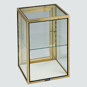Glass Showcase Tower Display 24 hx16 w Carry Case Knockdown Made In The Usa New