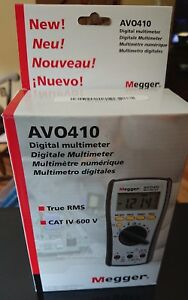 Megger Avo410 us Digital Multimeter True Rms Cat Iv 600 V Nib
