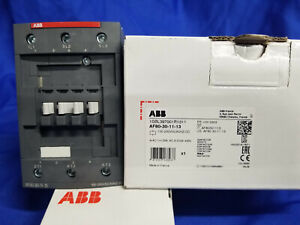 Abb Af80 30 11 13 3p 80a 100 250v Contactor New In Box