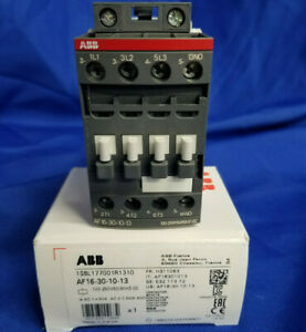 Abb Af16 30 10 13 3p 16a 100 250v Contactor New In Box