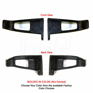 78 88 A G Body Bucket Seat Headrest Belt Guide Catch Molded In Color Choices