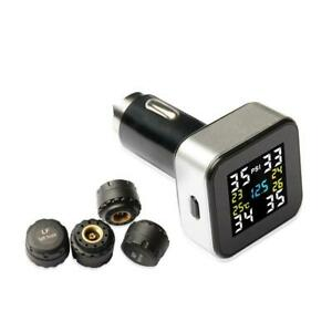 Replacement Sensor Universal Solar Tpms Wireless Tire Pressure Monitoring System